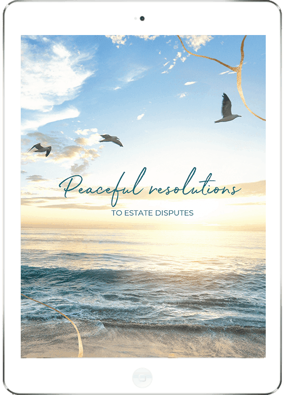 Free download - Peaceful resolutions to Estate Disputes