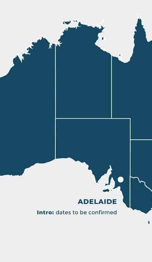 Adelaide Intro Dates