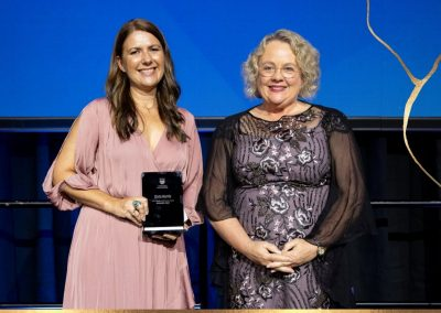 Zinta Harris - 2021 QLS Agnes McWhinney Award winner